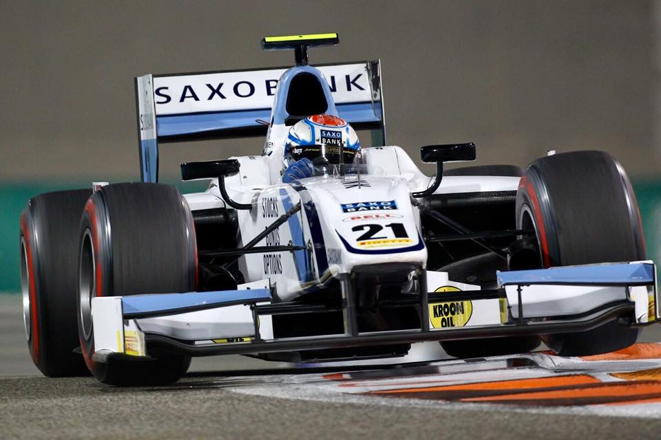 Saxo Bank Extends Sponsorship Deal with Danish GP2 Race Car Driver Marco Sørensen