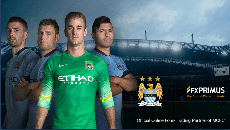Manchester City Signs a Multi-Year Global Partnership Deal with FXPrimus worth $2 Million a Year
