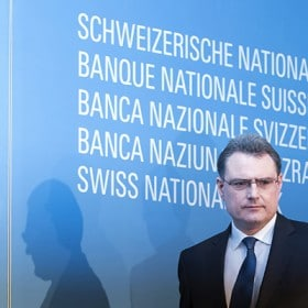 Swiss National Bank President Thomas Jordan News Conference