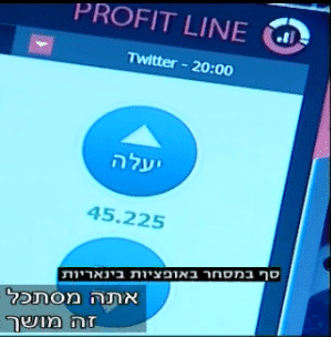 "Israeli Financial TV Show Warns Against ""Cash Extractor"" Binary Options Trading"