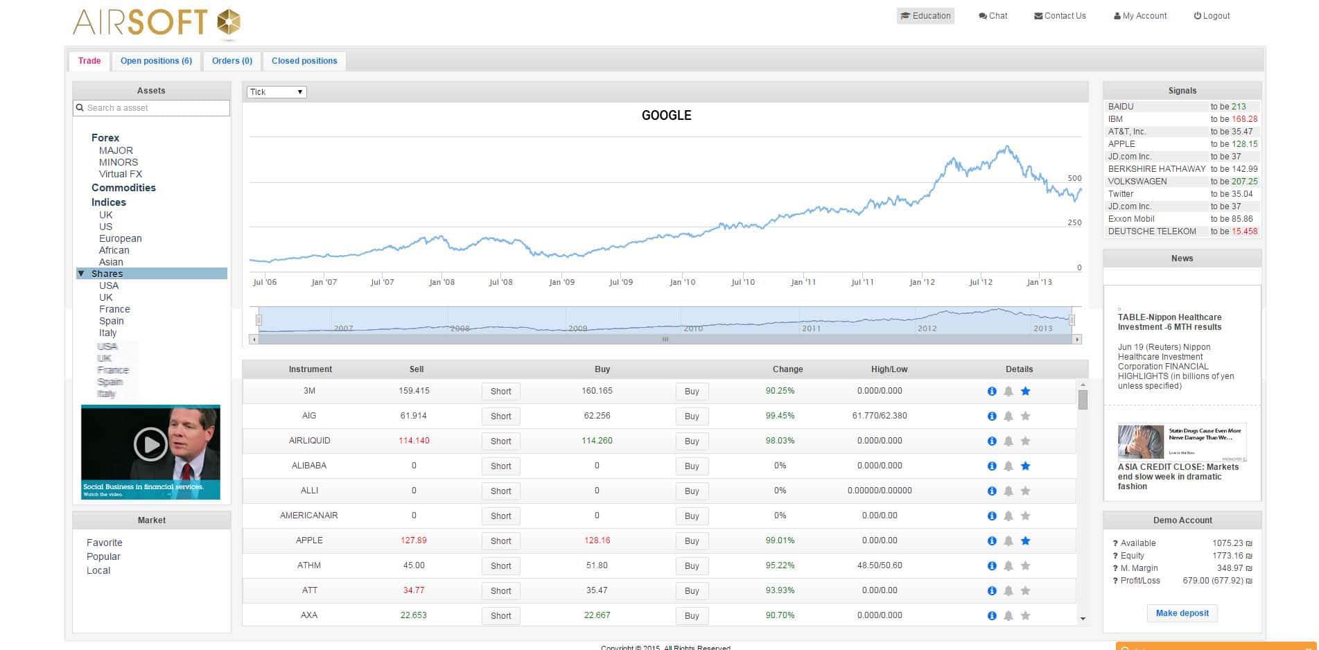 Screenshot of AirSoft New CFD Platform