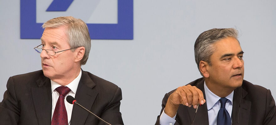 John Cryan Named Deutsche Bank CEO as Fitschen, Jain Step Down