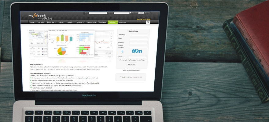 Myfxbook Launches New Copy Trading Service with Hosted Solution