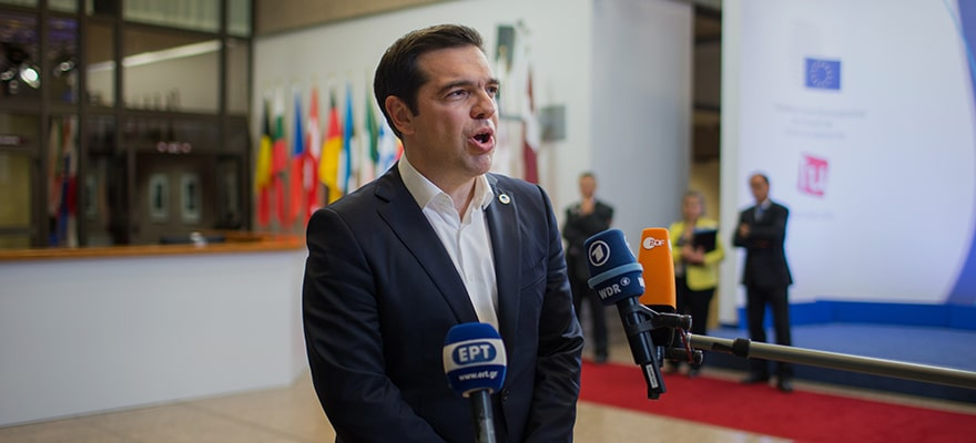 Tsipras Authoring a Tragedy of Greek Proportions
