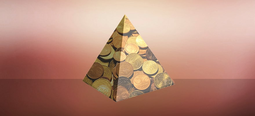 is cryptocurrency a pyramid
