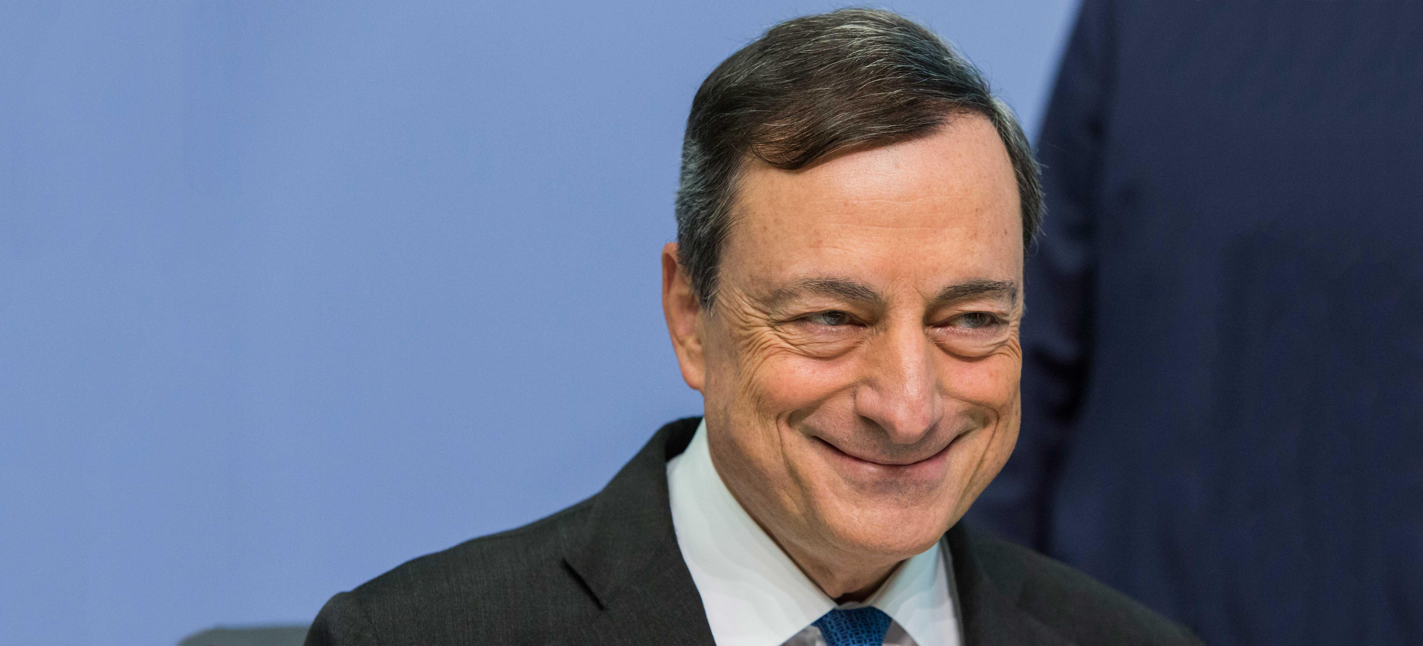 Euro Slammed Lower Following ECB President's Speech