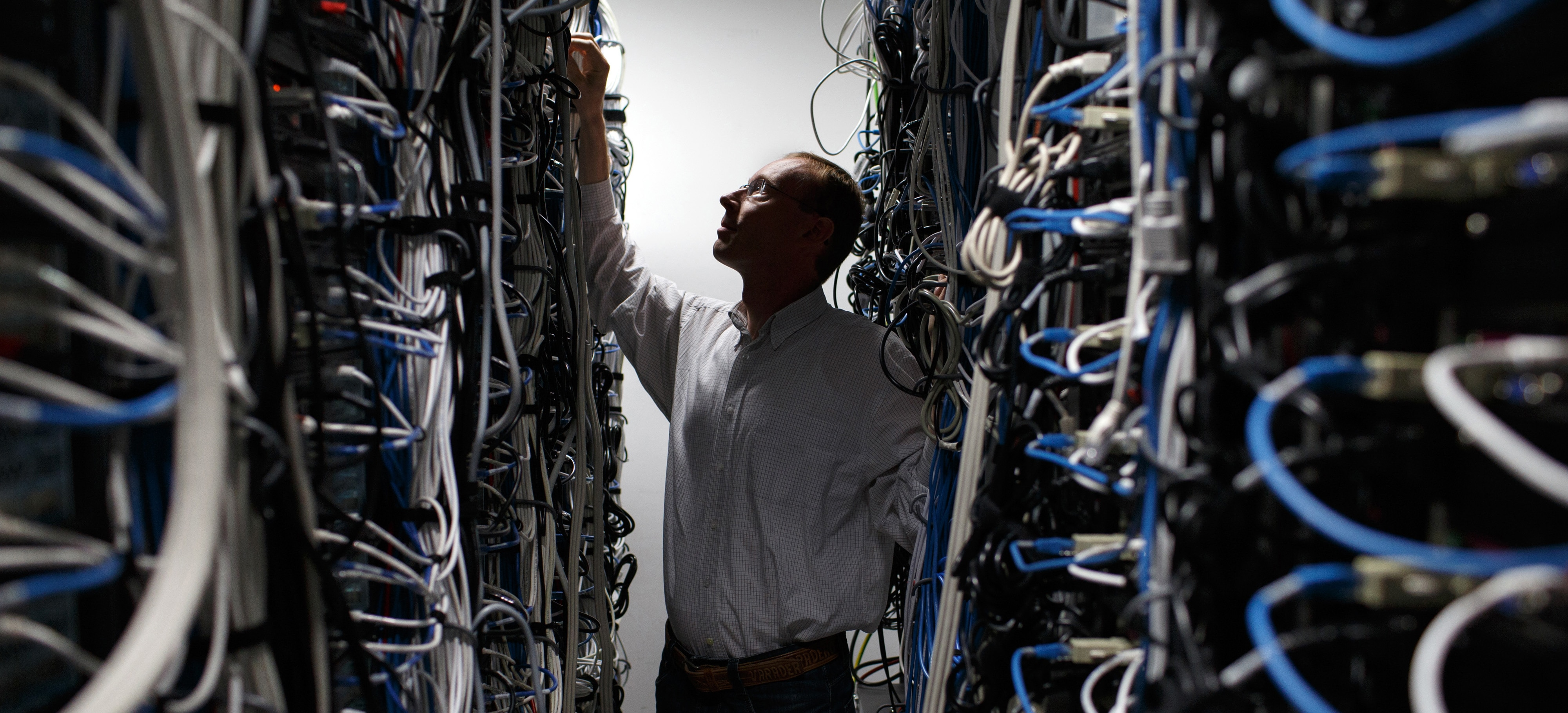 Data Center, Data Centre, Servers, Data, Cables