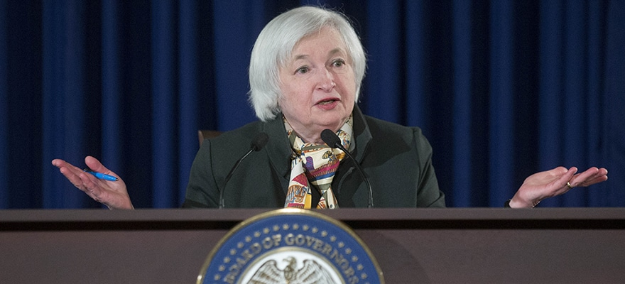 Janet Yellen, chair of the U.S. Federal