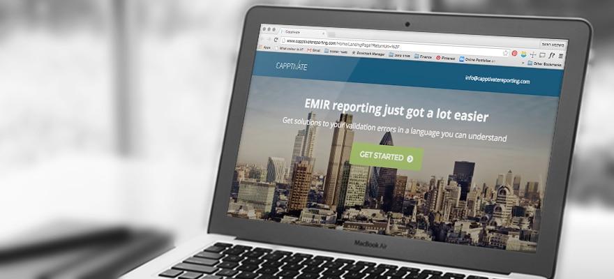 Sneak Peak: Cappitech Tames EMIR Reporting with Capptivate