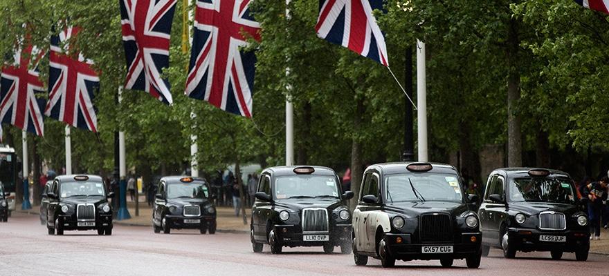 london flag cabs