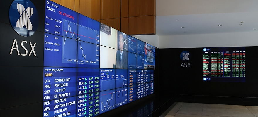 Viewing Gallery At The Australian Securities Exchange