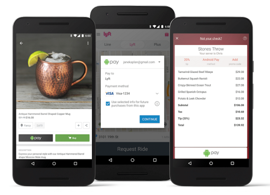 android pay in app purchase