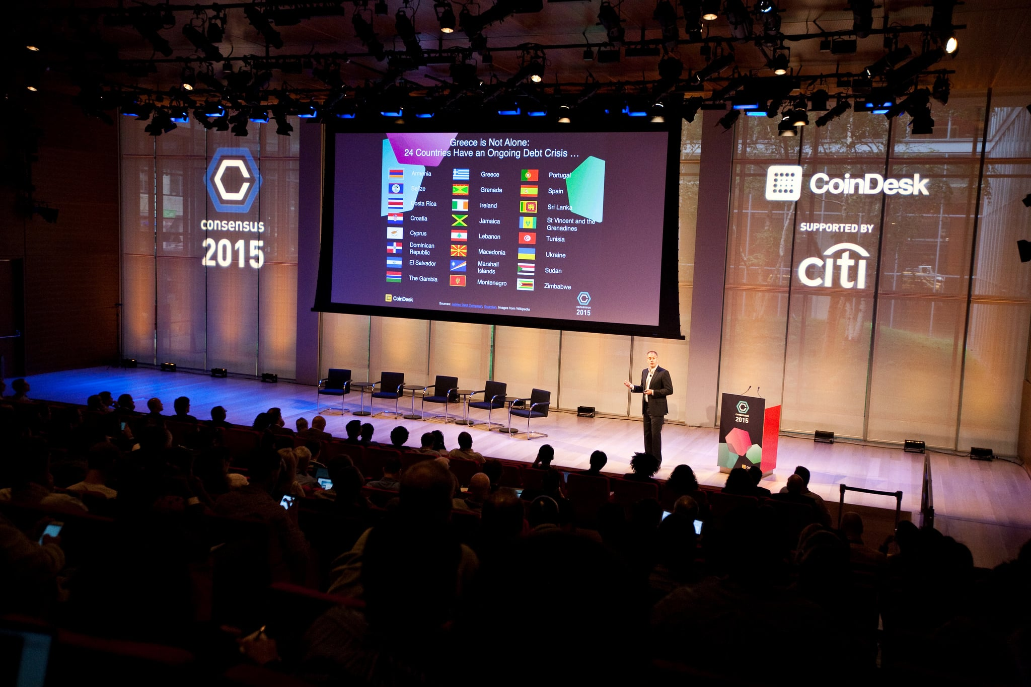Consensus 2015 (Photo: CoinDesk)