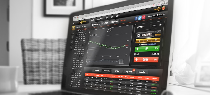 Bitcoin binary options quotes