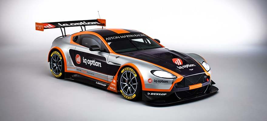 IQ Option Goes for 'Speedy and Reliable' with Aston Martin Sponsorship