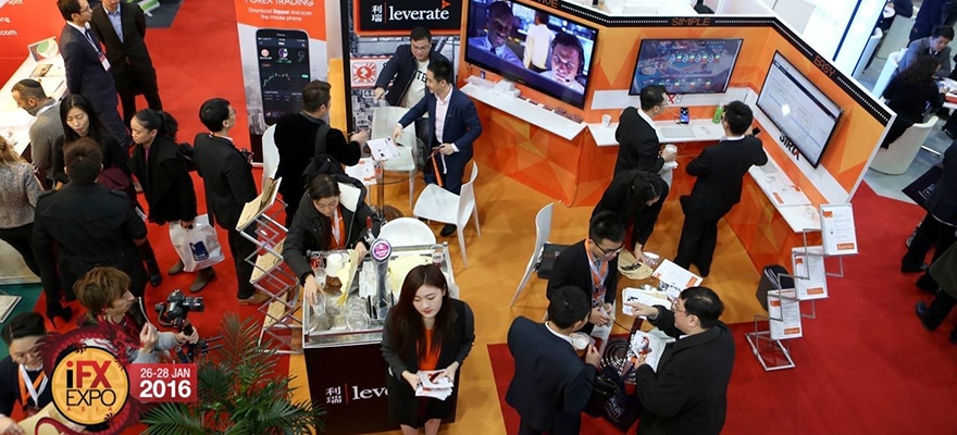 Leverate Booth at IFXEXPO Hong Kong