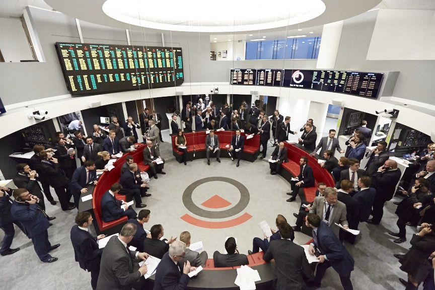 LME, trading floor, open outcry, trading pit,