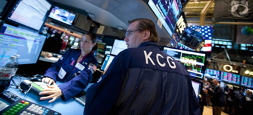 KCG's Trading Volumes Hold Tight Consolidation in April