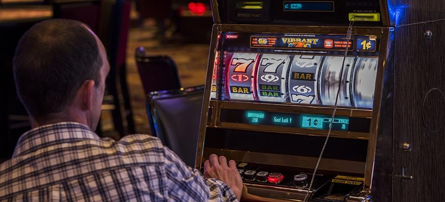 Casino, gambling, slot machine
