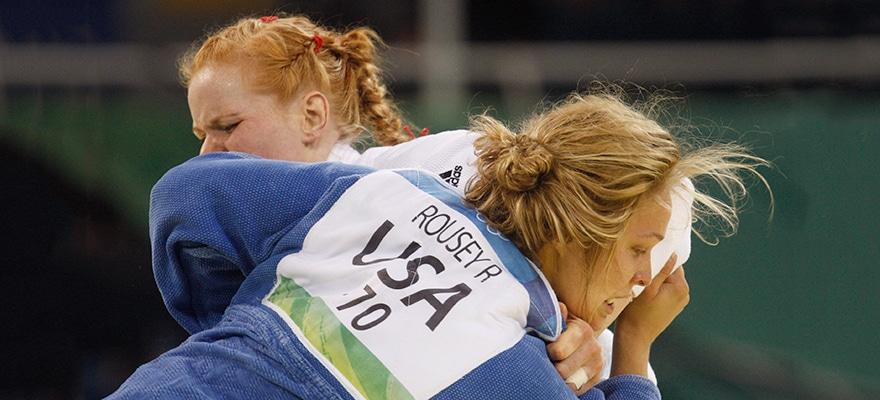 ronda rousey fight olympics