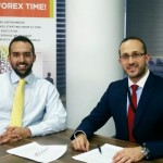 Jameel Ahmad, Chief Market Analyst and Vice President of Corporate Development (left), and Hussein Al Sayed, Chief Market Strategist (right), FXTM