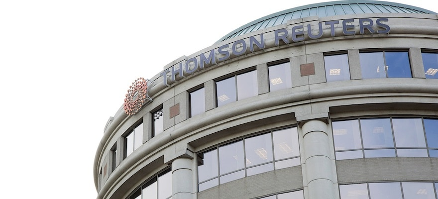 Thomson Reuters in Talks to Sell Stake of F&R Unit to Blackstone Group