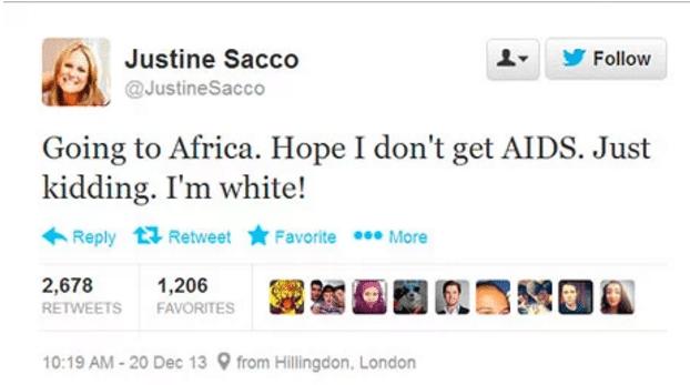 Justine Sacco, twitter, shaming