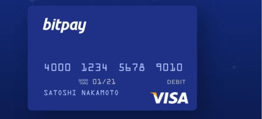 BitPay Launches Its Own Bitcoin Visa Debit Card in the U.S