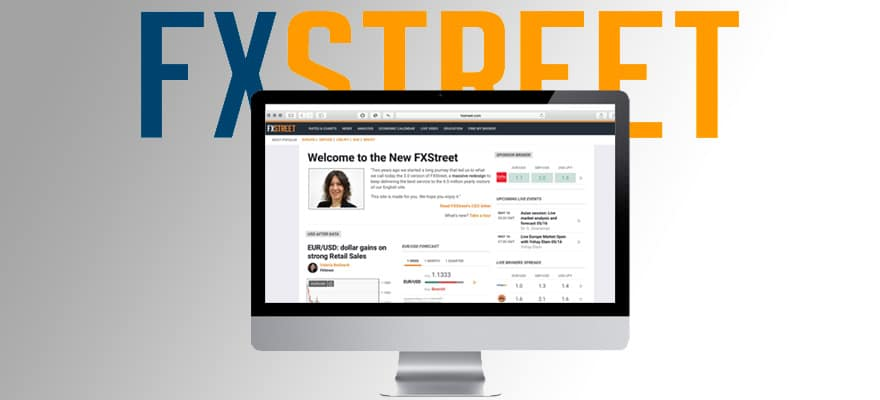 FXStreet Officially Launches Redesigned Website v3.0