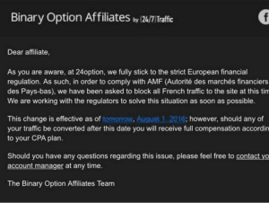 24Option notice