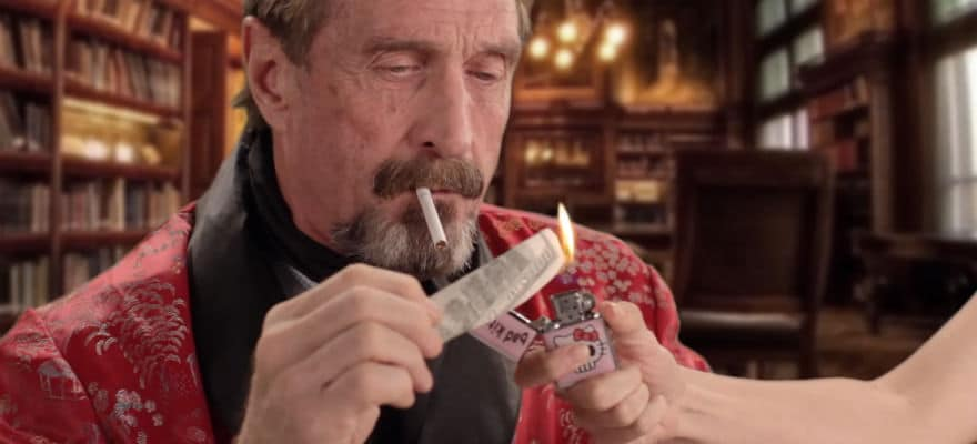 John McAfee Twitter Handle Hack Results in Pump and Dump of Multiple Coins