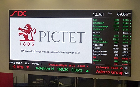 SIX Swiss Exchange Connects Pictet to its SLS Liquidnet Service
