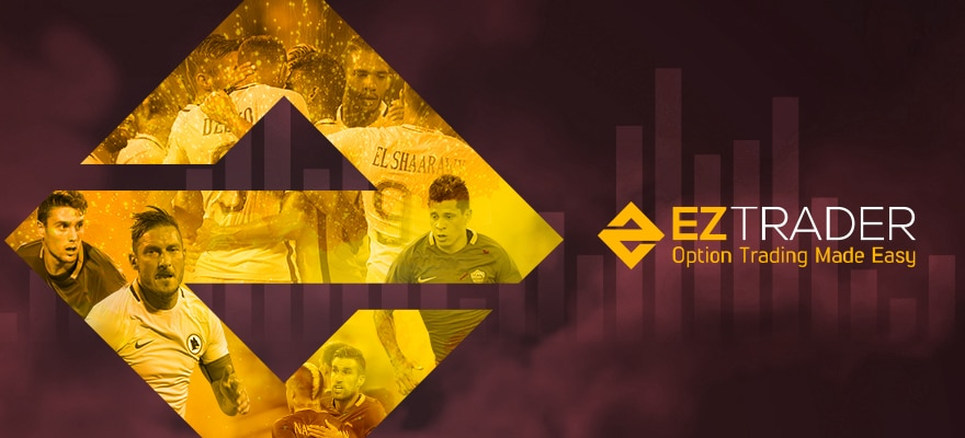 EZTrader Signs New Sponsorship Deal With Italian Football Club Roma