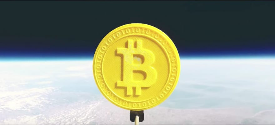 Genesis Mining Sent Bitcoin to Space – Watch the Amazing Video