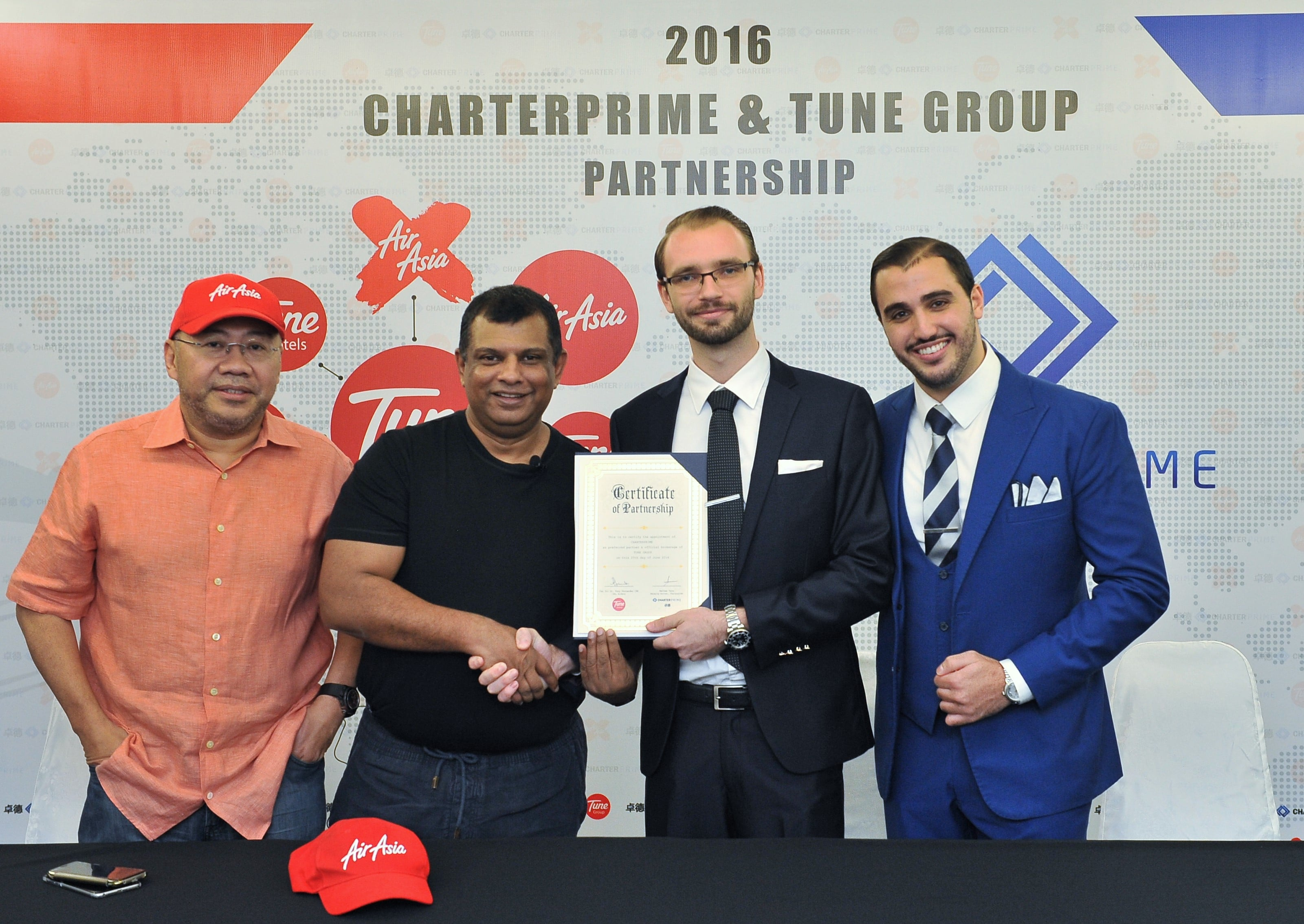 Charterprime Selected by Tune Group as Official Brokerage Partner