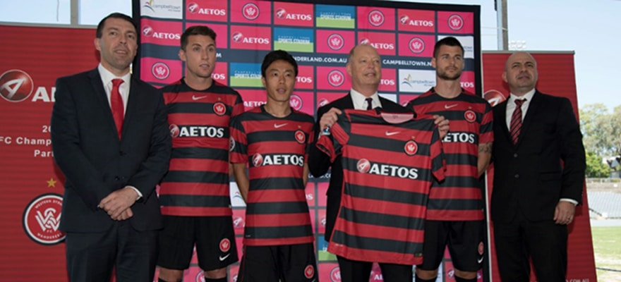 a29f1376 (Getty Images) Aetos Partners with Western Sydney Wanderers for 2017 AFC  Champions League ...