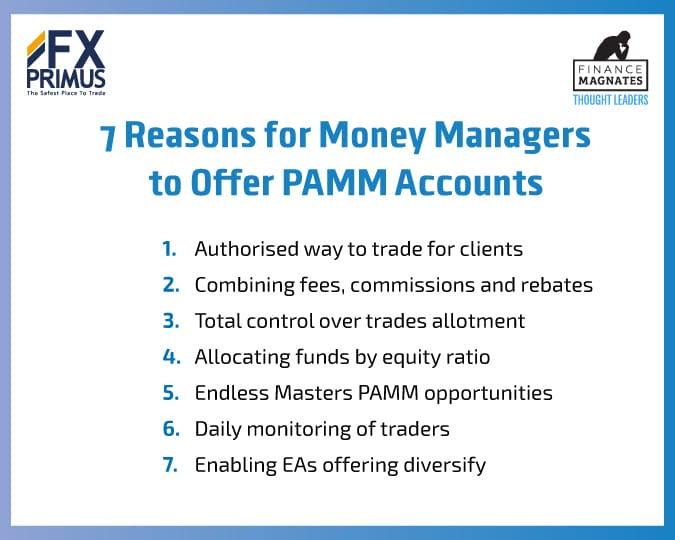 Pamm managers