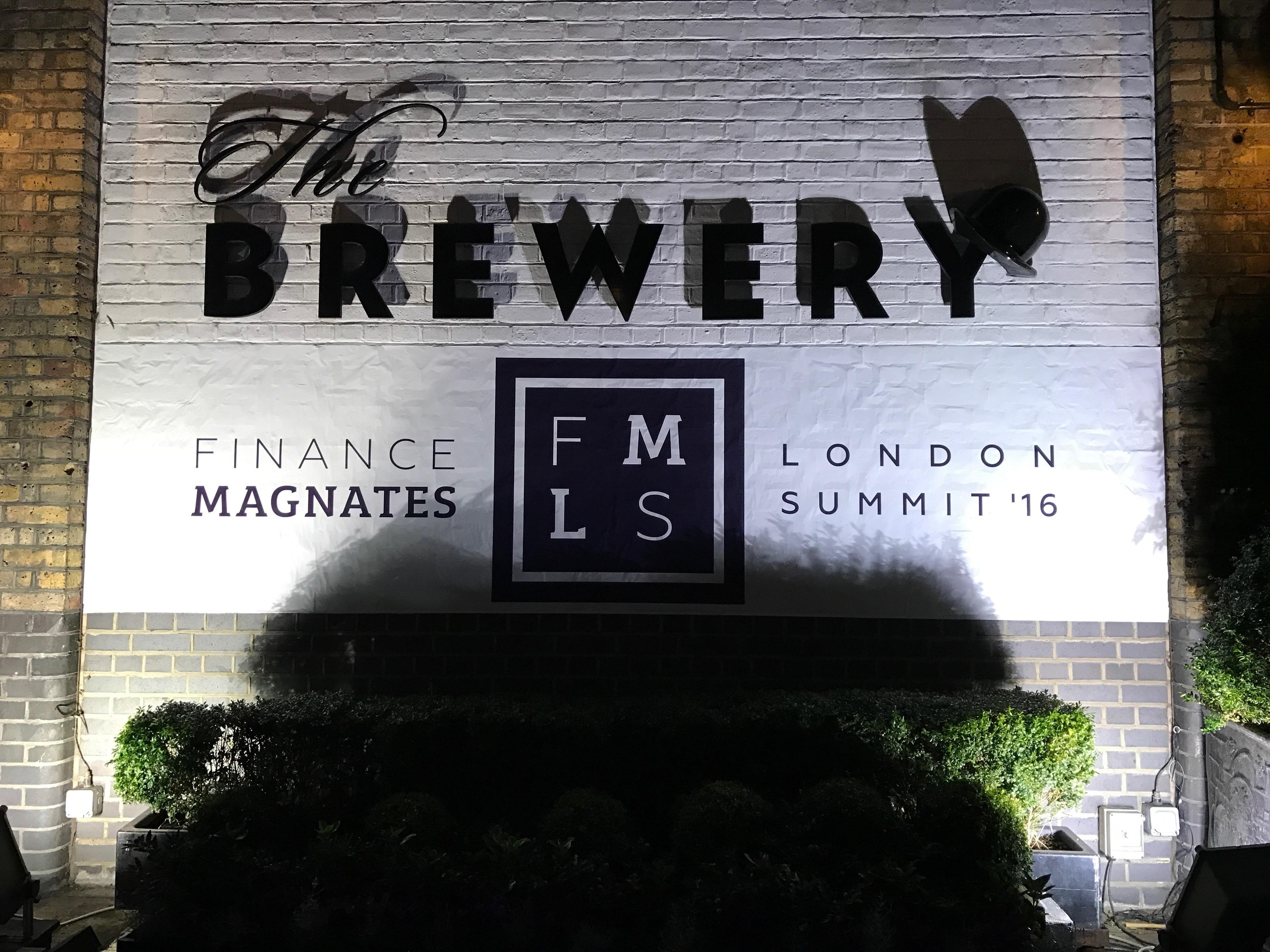 Finance Magnates' 2016 Summit Kicks Off in Downtown London!