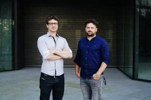 ICONOMI co-founders, Tim Mitja Zagar and Jani Valjavec