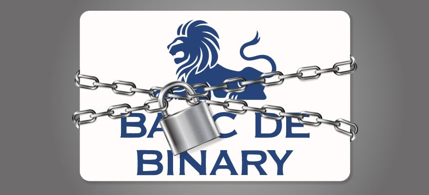 Banc de Binary to shut down, image from FinanceMagnates http://www.financemagnates.com/