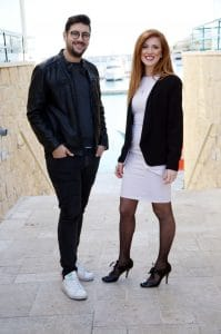 Loucas Stylianou (Left) and Laoura Salveta (Right)