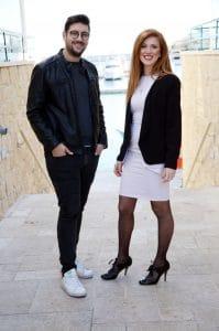 Loucas Stylianou (Left) and Laoura Salveta (Right)