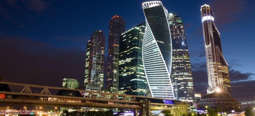 Morgan Stanley office in Moscow