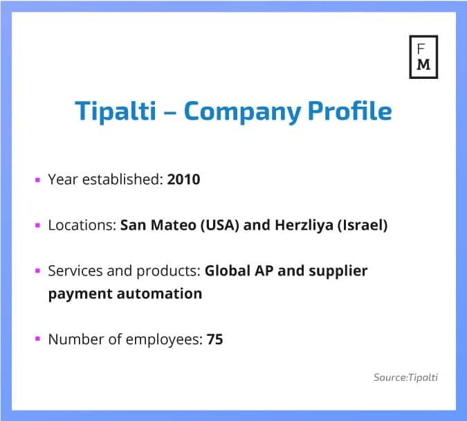 tipalti-company-profile