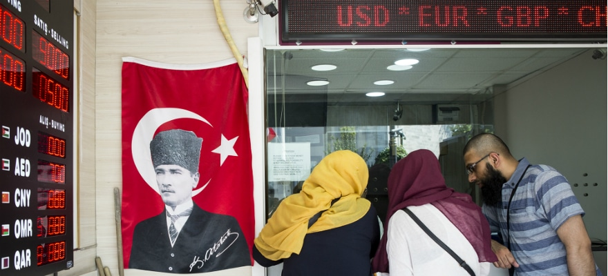 EMFX Offerings Survive Turkey Turmoil Thanks to Electronic Trading
