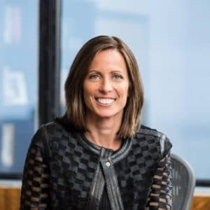 Adena Friedman, CEO of New-York based stock exchange operator, Nasdaq