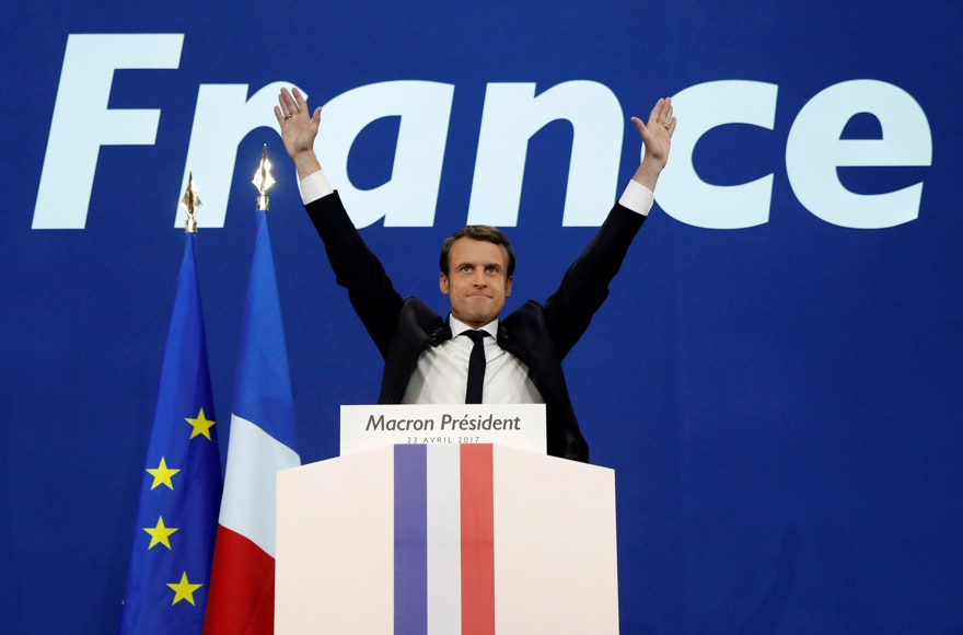 Shares of Major European FX Prime Brokers on the Rise after Macron Win