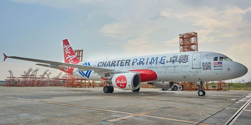 AirAsia Planes to Feature Charterprime Logo
