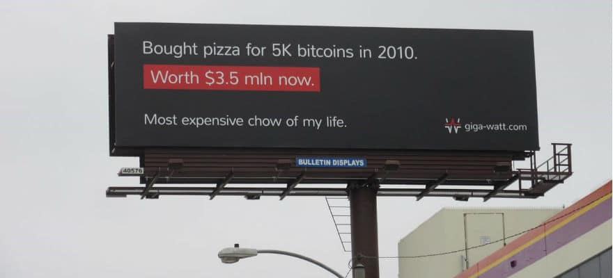 Bitcoin Mining Facility Giga Watt Raises $22m in Token Crowdsale