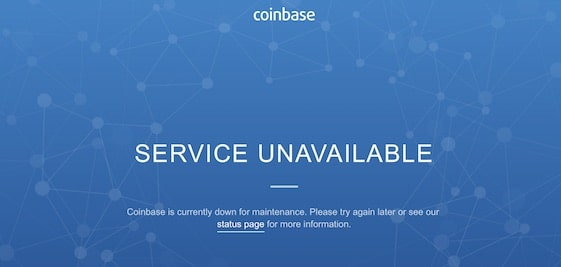 Bitcoin Price Tumbles Nearly 10% as Coinbase Access Disrupted